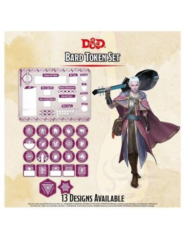 D&D Tokens & Combat Tile set -  Bard