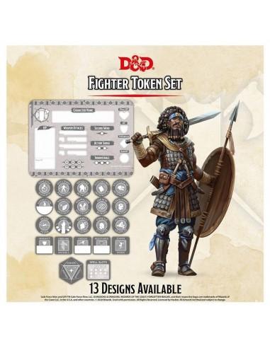 D&D Tokens & Combat Tile set -  Figther